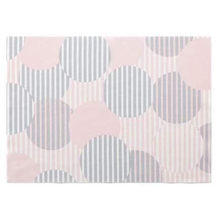 Сервировочные маты DAY DRAP 45х32 см, 2 шт, цвет бледно розовый