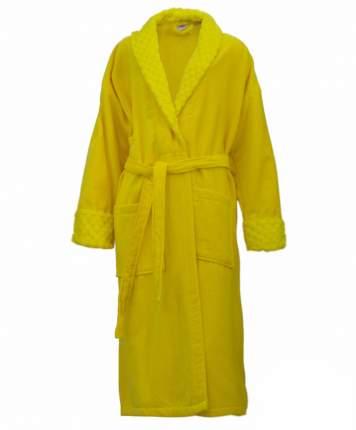 Банный халат HOBBY home collection Pollyanna жёлтый M