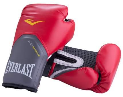 Боксерские перчатки Everlast Pro Style Elite красные 12 унций