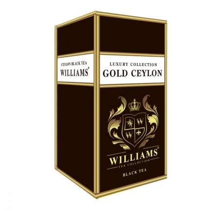 Чай Williams Gold Ceylon черный 150 г