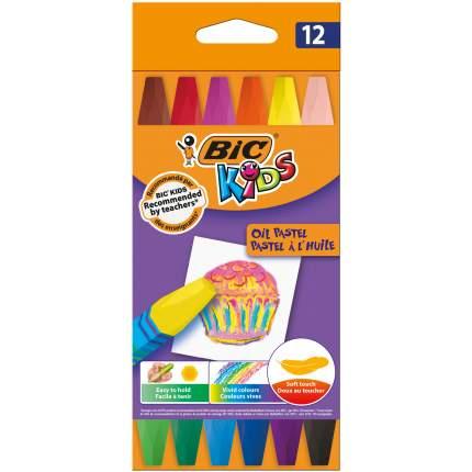 Мелки цветные BIC Kids Oil Pastel Коробка x12