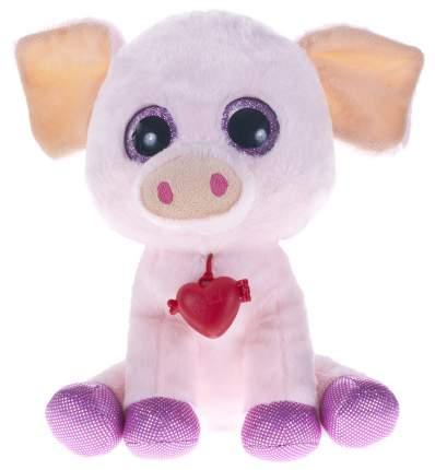 Мягкая игрушка Fancy Глазастики Свинка, 24 см