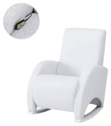 Кресло-качалка Micuna (Микуна) Wing/Confort Relax white/white искусственная кожа