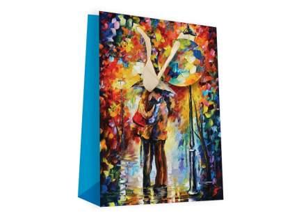 Пакет подарочный Белоснежка Поцелуй под дождем