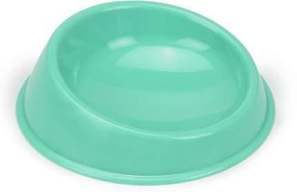 Миска Beeztees пластиковая для кошек (19 см, Голубой)