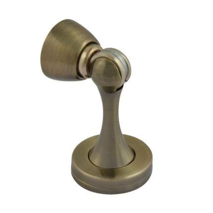 Ограничитель двери НОРА-М 809 магнитный, универсальный, старая бронза