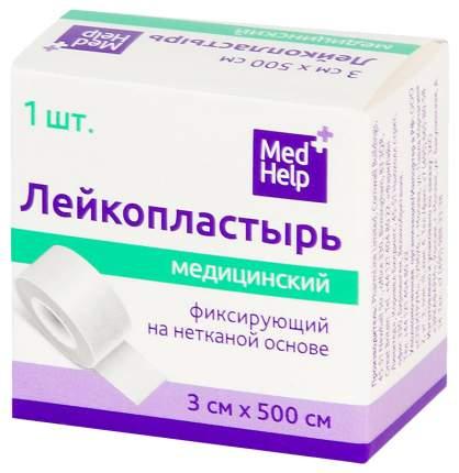 Пластырь фиксирующий MedHelp на нетканой основе 3 х 500 см