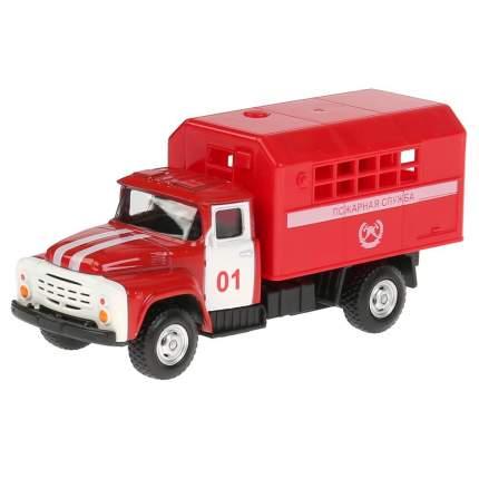 Инерционный металлический грузовик Автопарк - Пожарная служба, 1:52 Play Smart