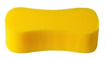 Губка автомобильная Verona, Восьмерка, желтая