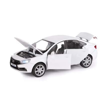 Машинка металлическая Автопанорама, LADA VESTA седан, масштаб 1:24, JB1251124