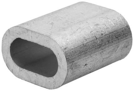 """Зажим троса Зубр """"МАСТЕР"""" DIN 3093 алюминиевый, 3мм, 100 шт"""
