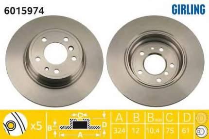 Тормозной диск GIRLING 6015974