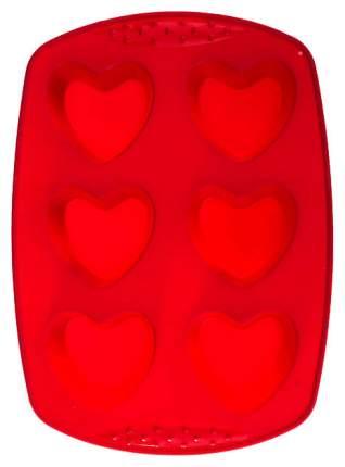 Форма для выпечки Agness 710-314 Красный