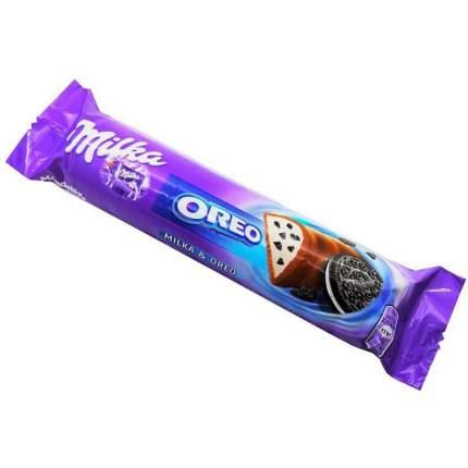 Шоколадный батончик Milka oreo baton 37 г