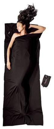 Вкладыш в спальник Cocoon Merino Wool Travelsheet черный 220X85 см