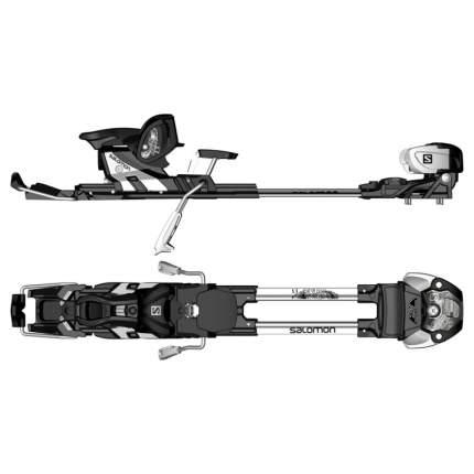 Крепления горнолыжные Atomic T Tracker MNC 13 S 2018, черные/серебристые, 100 мм