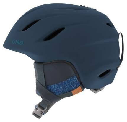 Горнолыжный шлем женский Giro Era 2019, темно-синий, S