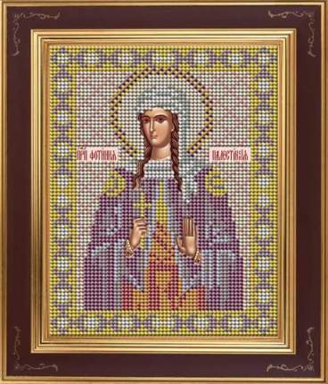 Вышивка бисером Galla Collection М256 Св.пр. Светлана (Фотиния) Палестинская 12х15 см