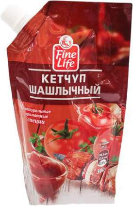 Кетчуп Fine Life шашлычный 300 г