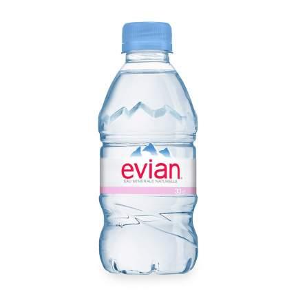 Вода Evian минеральная негазированная столовая пластик 0.335 л