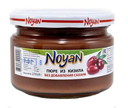 Пюре Noyan из кизила без сахара 270 г