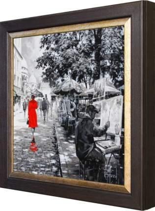 "Ключница ""Richard Telford - A Stroll Through The Old City I"" Венге"