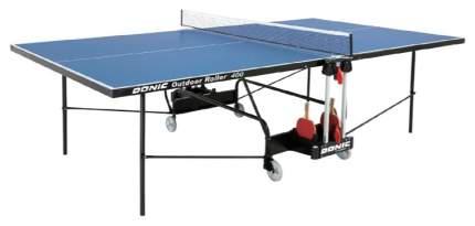 Теннисный стол Donic Outdoor Roller 400 синий, с сеткой