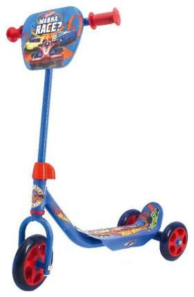 Самокат трехколесный Hot Wheels, колеса Пвх 145, 120 Мм