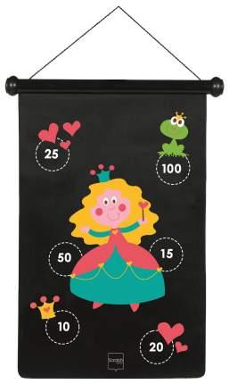 Дартс детский SCRATCH 6182010 Черный, розовый