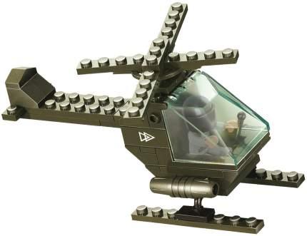 Конструктор пластиковый Sluban M38-B5700 Вертолет Военный 51 деталь с фигуркой