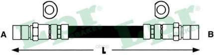 Шланг тормозной Lpr 6T48030