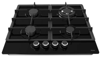 Встраиваемая варочная панель газовая Haier HHX-G64CWB Black