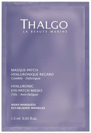 Маска для глаз Thalgo Hyaluronic Eye-Patch 8 шт x 2 мл