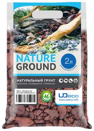 Грунт для аквариума UDeco Canyon Lava 15-40 мм 2 л