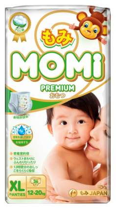Подгузники-трусики Momi Premium Xl ( 12-20 Кг), 36 шт.
