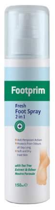 Дезодорант для ног Footprim Fresh Foot 2 в 1 150 мл