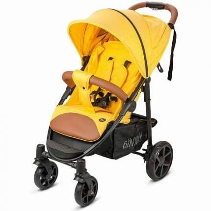 Прогулочная коляска Nuovita Corso жёлтый - чёрный