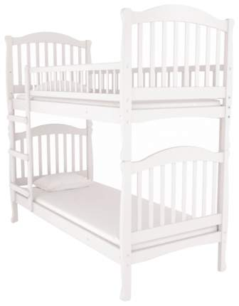Двухъярусная кровать Nuovita Senso Due Bianco бБелый