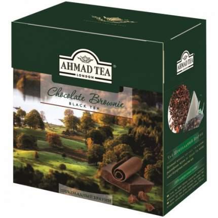 Чай черный Ahmad Tea шоколадный брауни 20 пакетиков