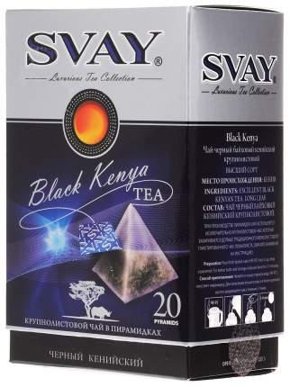 Чай Svay black Kenya кенийский черный  20 пакетиков