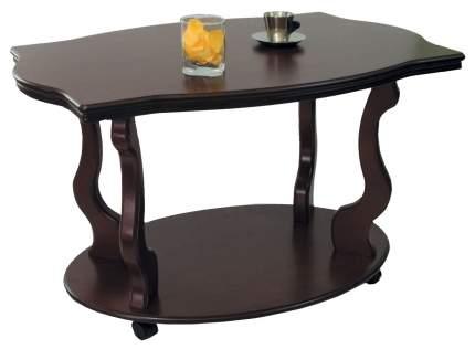 Журнальный стол Мебелик 56х94х60 см, коричневый