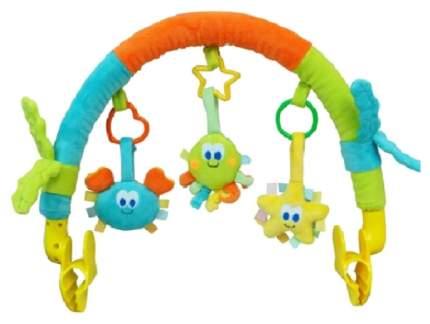 Дуга с игрушками на коляску Elefantino IT103447 3 игрушки