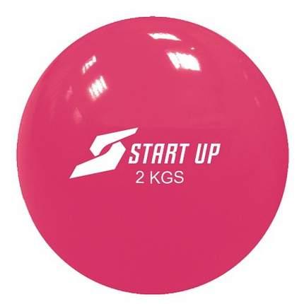 Мяч гимнастический Start Up NT18025, розовый, 14,5 см