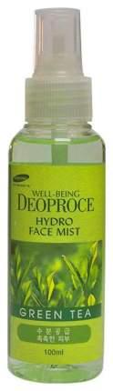 Спрей для лица Deoproce Well-Being Hydro Face Mist Green Tea 100 мл