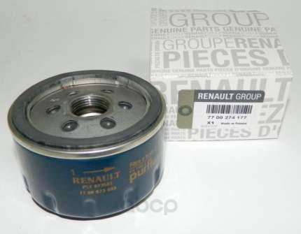 Фильтр масляный RENAULT 7700274177