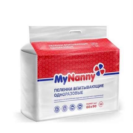 Пеленки впитывающие Medmil MyNanny 30 шт. 60x90 см