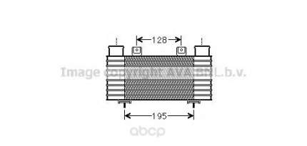 Радиатор охлаждения двигателя Ava MZ4239