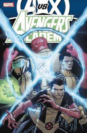 Комикс Avengers vs x-men tp avengers academy