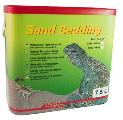 """Песок для террариумов LUCKY REPTILE """"Sand Bedding"""", красный, 7.5л"""
