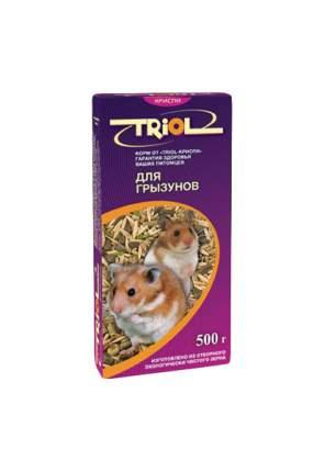 Корм для грызунов Triol Криспи 0.5 кг 1 шт